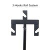 Backdrop Stand with Triple Mount Chain System- (Support 3 Paper/ Vinyl Backdrops)
