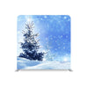 Frozen Tree Blue Glittering Sky STRAIGHT TENSION FABRIC MEDIA WALL