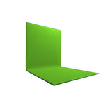 L - Shaped Chroma Key Backdrop