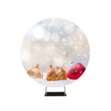 Abstract Christmas Photography Background Circle Backdrop Stand