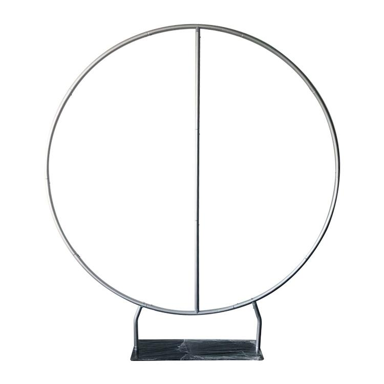 Christmas Stable Circle backdrop stand