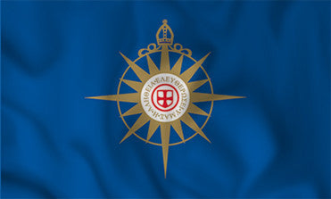Anglican Communion's Compass Rose Flag in TrueKolor Wrinkle Free Fabric