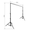 Photography Backdrop Stand - 3m W x 3m H ( Supports 3 Backdrops)