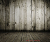 Mahogany Wooden Fence Print Photography Backdrop