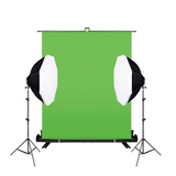 Chroma Key Panel With 5 Lamp Octagonal Soft Box Kit
