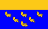 West Sussex County Flag in TrueKolor Wrinkle Free Fabric