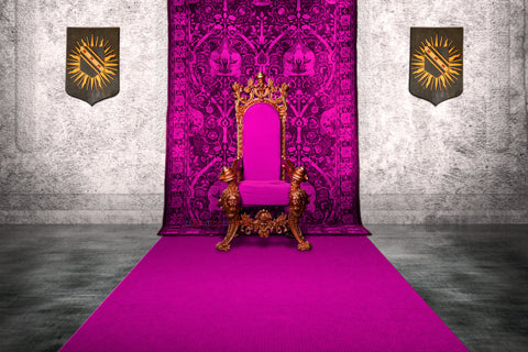 Crown Royal Throne Print Photography Backdrop