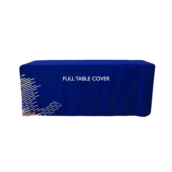 Custom Printed Premium Full Table Covers
