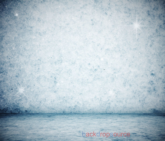 Glittering Paleblue Wall Floor Print Photography Backdrop