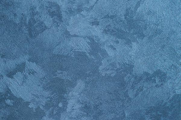 Grunge Texture of Blue Decorative Concrete Backdrop