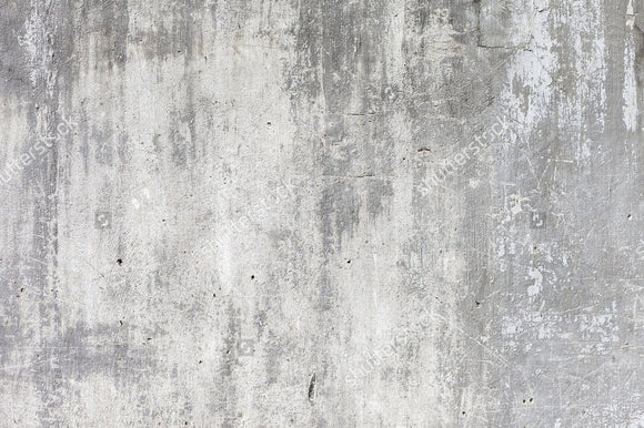 Grunge White Concrete Wall  Backdrop
