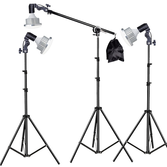 3 Head Contionous LED BiColor 1250w Beginners Light Kit