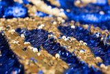 Blue/Gold Mermaid Sequin Backdrops (Photo booth backdrops that help you win hearts)