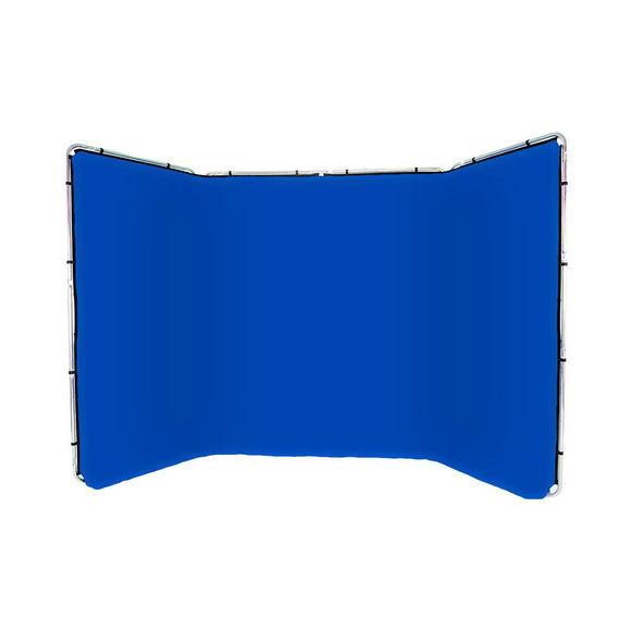 Panoramic Background Blue 4m wide