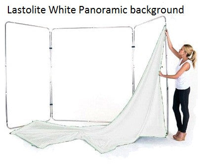 Lastolite White Panoramic Background 4m Wide