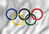 Olympics Flag in TrueKolor Wrinkle Free Fabric