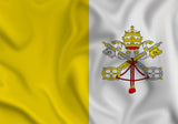 Vatican City Papal Flag in TrueKolor Wrinkle Free Fabric