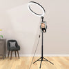 STUDIO PHOTOGRAPHY MAKEUP DIMMABLE 13 INCH (18W) LED CIRCLE RING LIGHT LAMP (FOR LIVE VIDEOS)