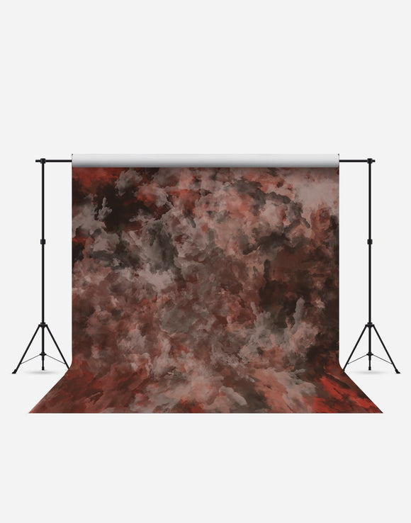 Red Smoky Fashion Wrinkle Resistant Backdrop