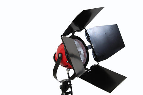 Tungsten Halogen 800W Red Head Video Photography Shooting Light