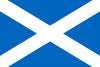 Scotland St Andrew's Cross Flag