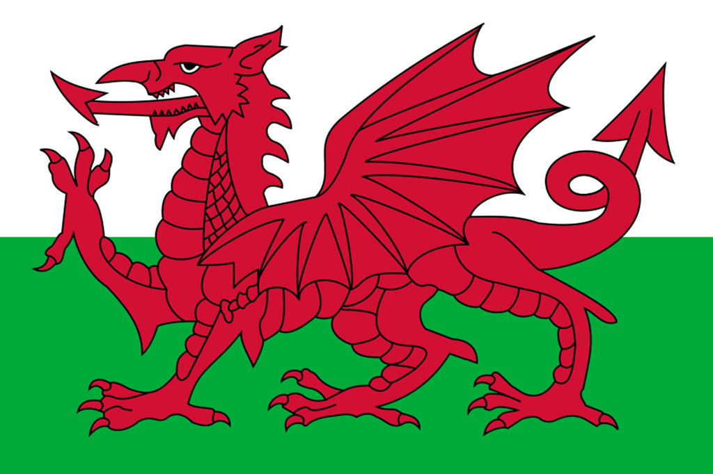 Wales Red Dragon Flag