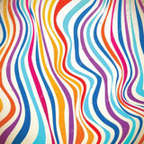 Colourful Curved Stripe Print Photography Backdrop