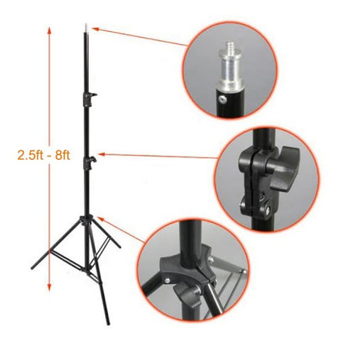 1.9m Studio Photography Light Accessory Stand 2