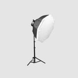 5 Lamp Softbox Photo Studio Light Equipment