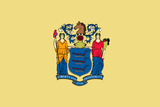New Jersey State Flag in TrueKolor Wrinkle Free Fabric