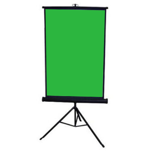 Collapsible Chromakey Panel for Live Streaming Videos