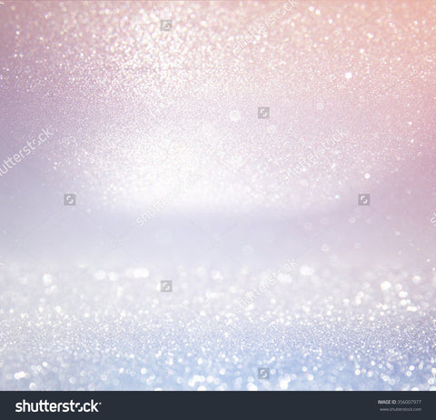 Light Silver and Pink Glitter Print Photography Backdrop