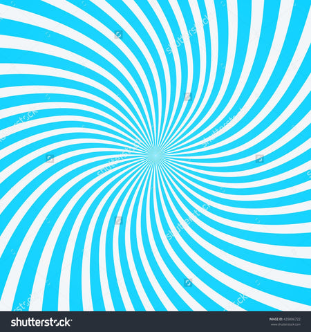 Radial Blue Swirl Print Photography Backdrop