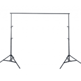 Portable Photography Backdrop Stand - 3m Wide X 2.7m Tall