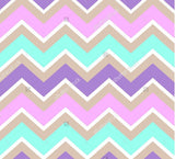 Turquoise White Purple Pink Cream Indelible Print Fabric Backdrop