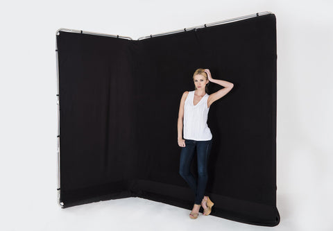 Lastolite Panoramic Background Cover 13' (4M) Black