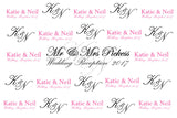 Customized Wedding Background Banner