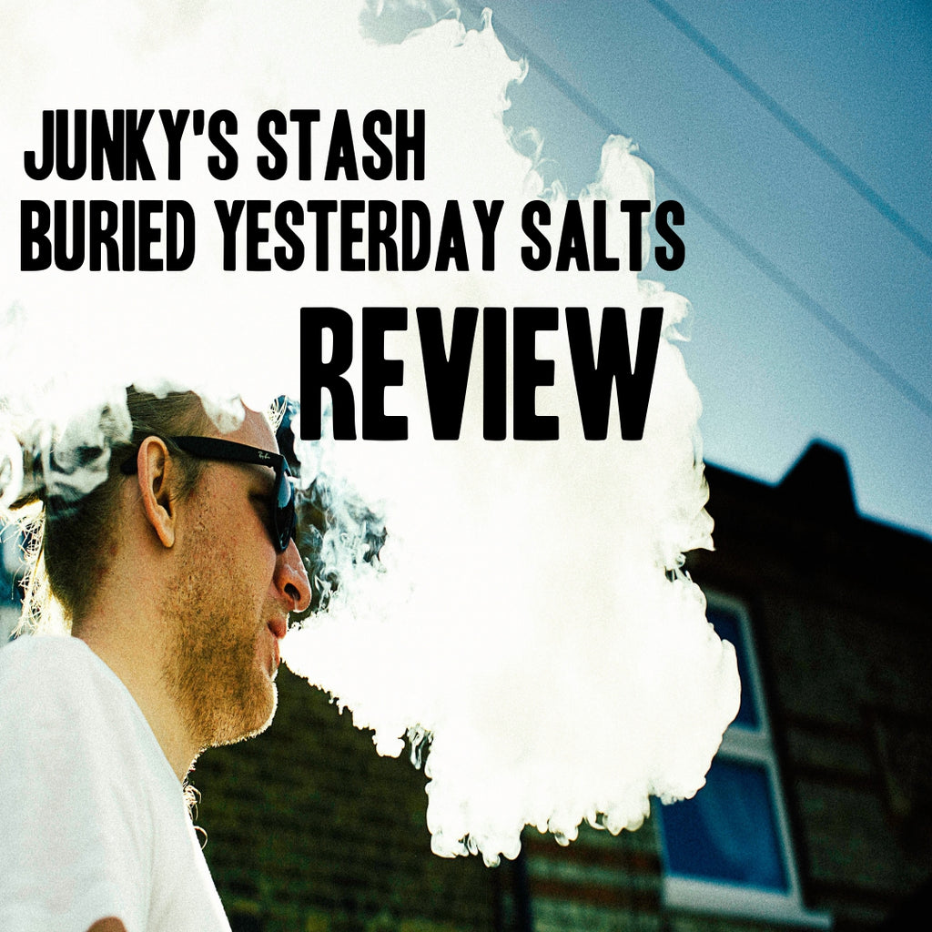 Review Of Junky's Stash Salts Buried Yesterday ICED