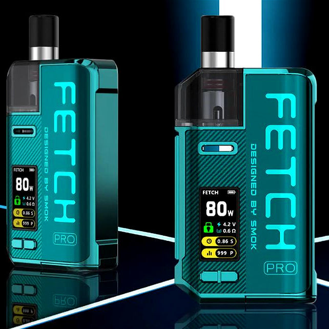 SMOK FETCH Pro Preview, NEW 80W Pod From SMOK