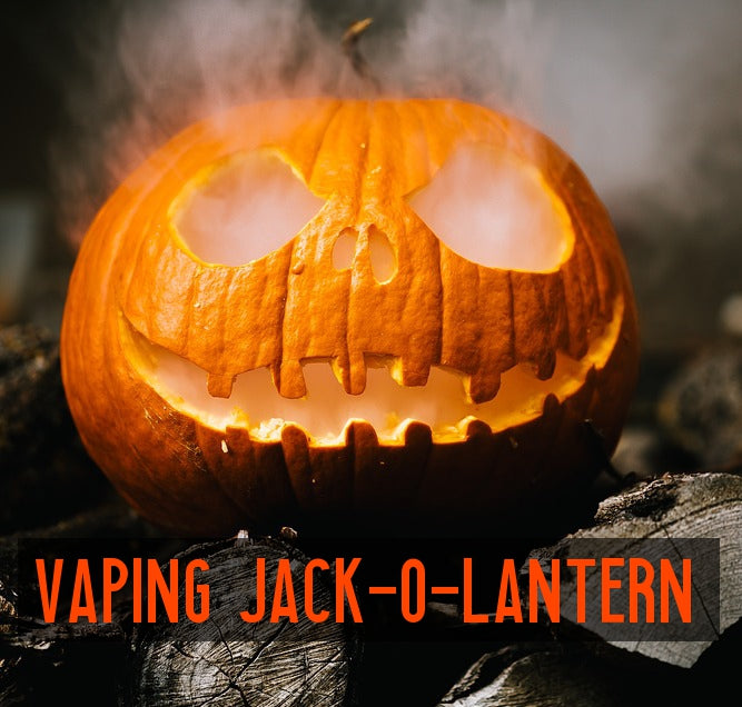 Pumpkin Carving: The Vaping Jack-O-Lantern