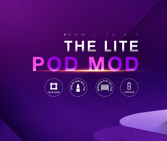 Smok The Lite Pod Mod - The RPM Lite Kit Overview