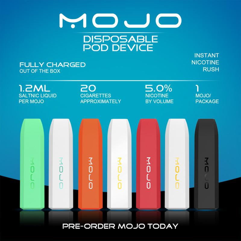Sneak Peek - Mojo Ultra Portable Disposable Device