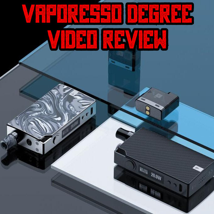 Vaporesso Degree Video Review