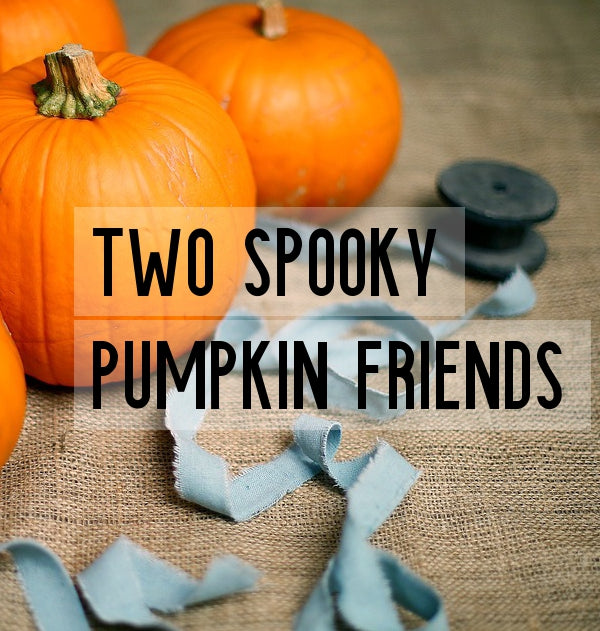 Pumpkin Carving: Two Spooky Pumpkin Friends