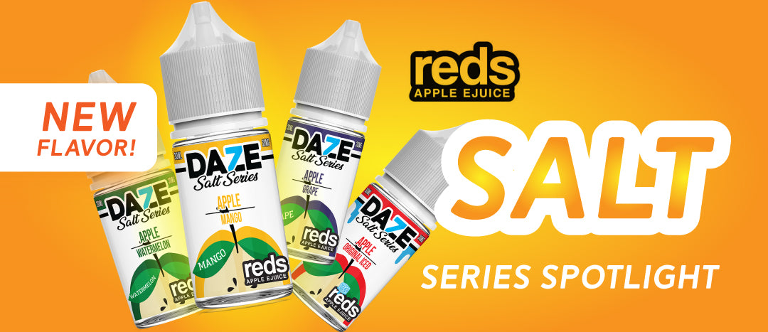 Reds Apple Salts and a NEW FLAVOR – EightVape