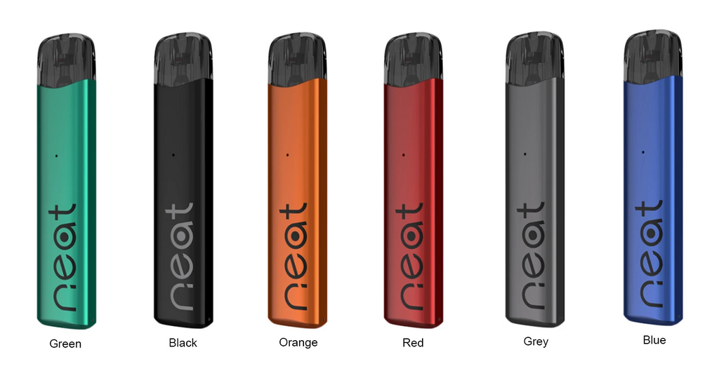 Six different colored Uwell vapes.