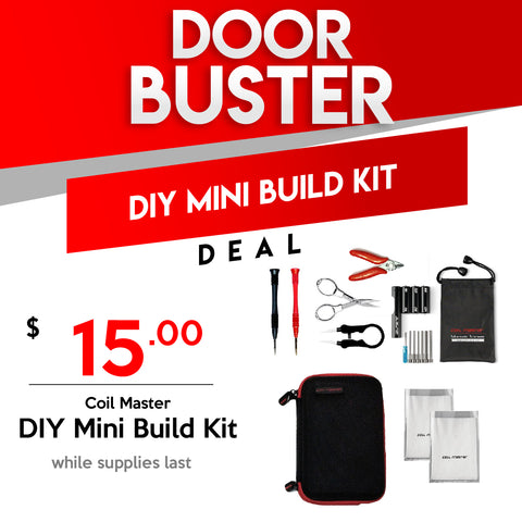 Coil Art DIY Mini Build Kit Black Friday Deal for $15