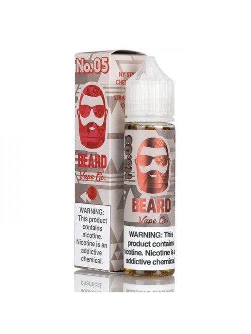 Beard Vape Co No. 05 NY Cheesecake 60ml Vape Juice