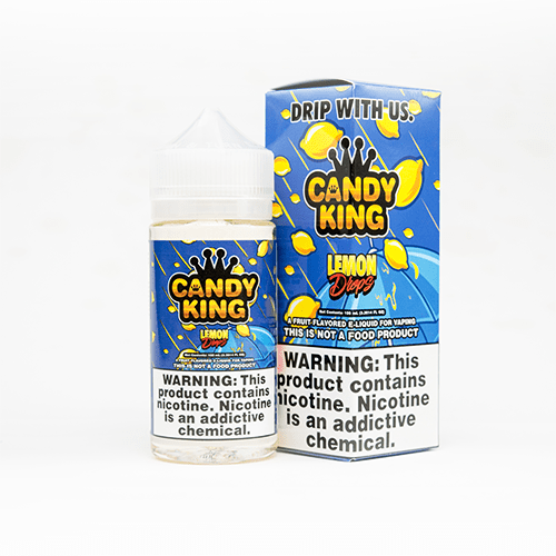 Candy King Lemon Drops 100ml Vape Juice