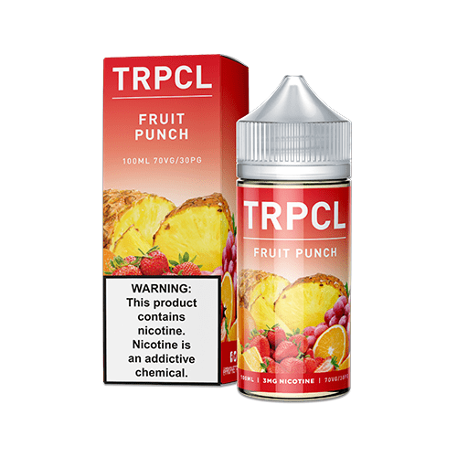 TRPCL ONE HUNDRED Fruit Punch 100ml Vape Juice